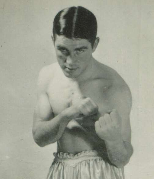Frank Kenny (Glasgow) Scottish Area Featherweight Champion 1938-47