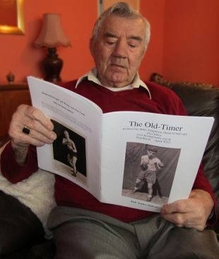 Jock Taylor (Sidcup) reading The Old-Timer